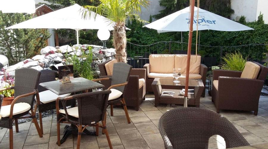 Lounge im Cafe Goldmark